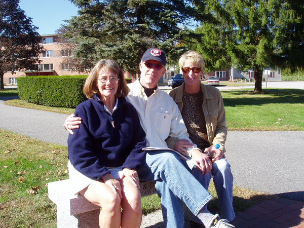 Hildy with Jerry McCarty and his wife.