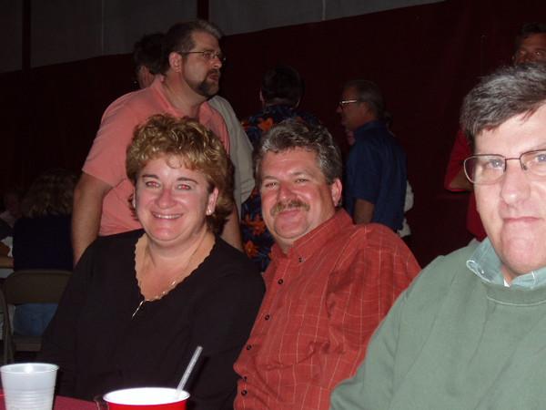 Jane and Merrill Robbins, Bruce Gordon.