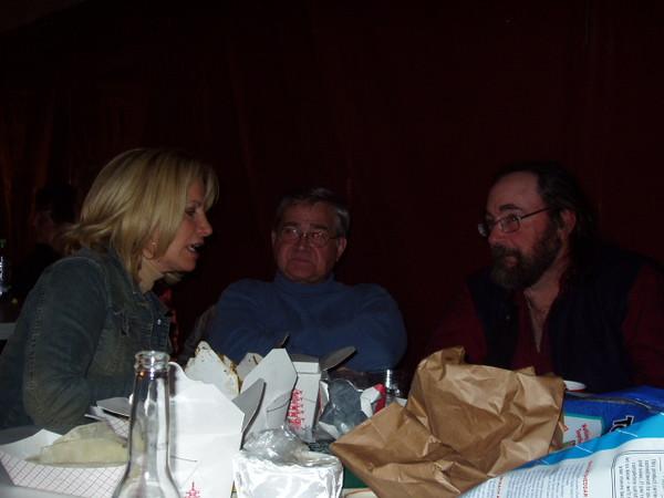 Whoa. Laney Fichera, Jonathan Rogers and Peter Stewart.
