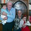 Parma, Mario con Gughi, Angelo con Iaia, a Natale. Christmas in Parma, 2012
