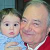 Gugliemo (Gughi) con Nonno Luciano, 2012