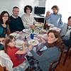 Christmas Dinner. Ale, Pier (her brother), Gio, Mirko (a cousin), Davide, Terry, Iaia.