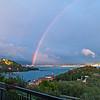 Back to Portovenere. Rainbow from Villa Gio.<br /> De nuovo a Portovenere, L'arcobaleno dalla casa nostra.