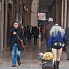 Follia! Fa freddo di Madonna! Craziness. It's freezing in Parma.