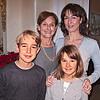 Mariapaola, Betta, e figli.