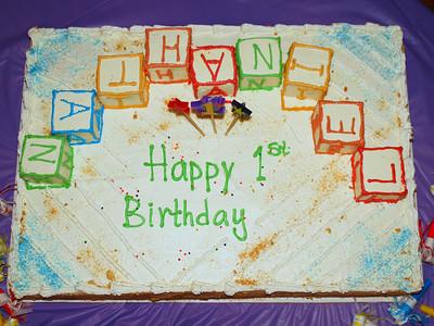 Nates 1st Birthday