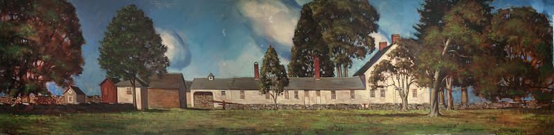 Nathan Hale Mural by W Langdon Kihn