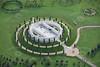 Aerial photo of the National Memorial Arboretum.