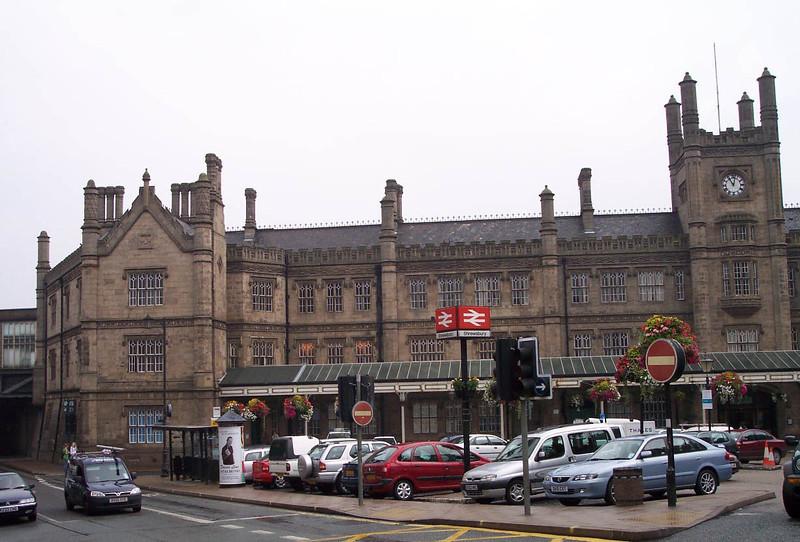 Shrewsbury exterior