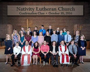 Nativity Confirmation - Oct 2016