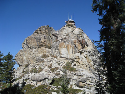 Buck Rock Lookout (for fires), Sequoia NP