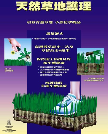 Natural Gardening Posters in Chinese
