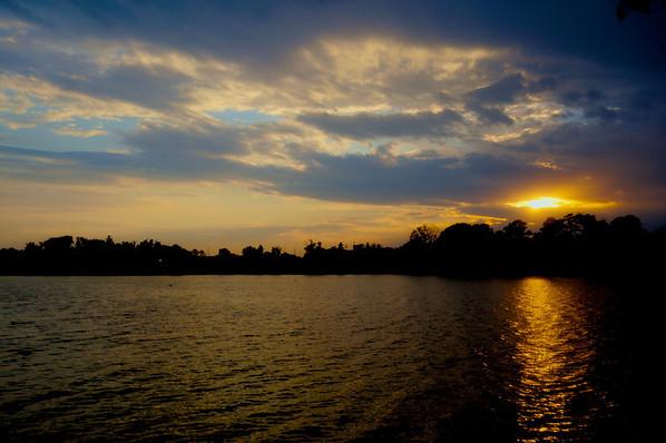 Around LSU lakes .