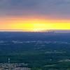 Looking east - Milwaukee skyline