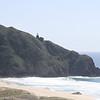 Views along Big Sur Marathon course - Point Sur Lighthouse