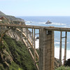 Views along Big Sur Marathon course - Bixby Bridge