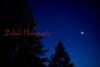 Larry Deklinski/Stafff Photo The crescent moon, Venus and Mars are shown Friday evening, Feb. 20, 2015, from Williamsport High School.