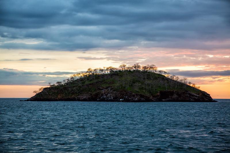 Island Sunset, Galapagos