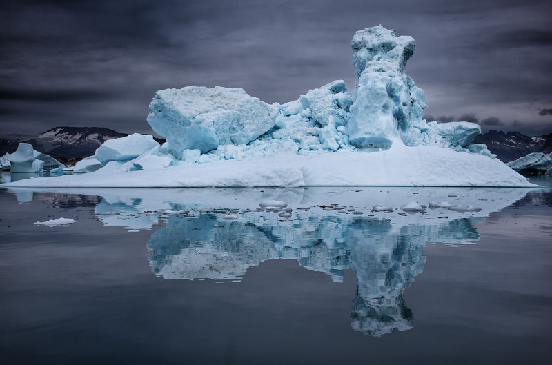 Blue Iceberg, Sermilik Fjord, Greenland