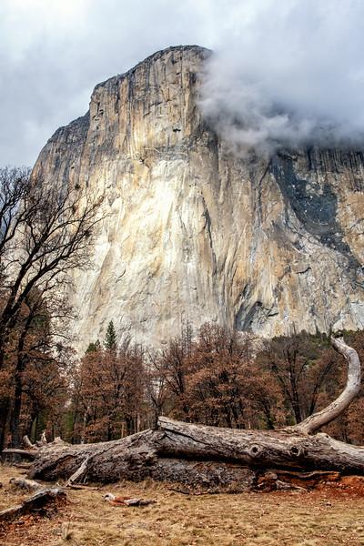 Clouds Over El Cap
