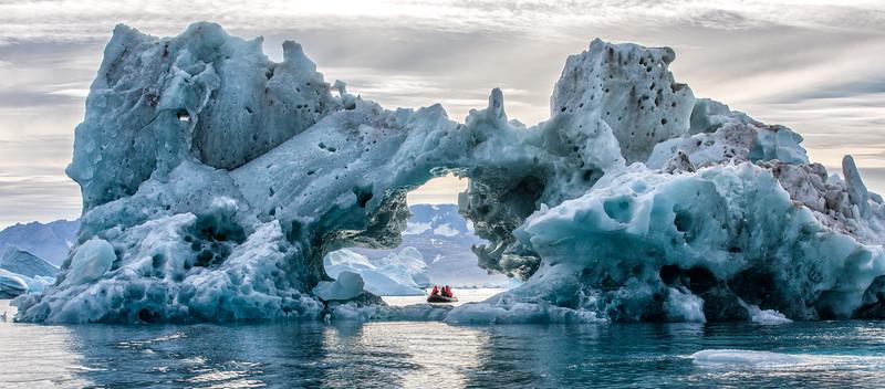 Iceberg Arch, Sermilik Fjord, Greenland