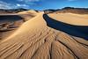 Sweeping Dunes, Death Valley