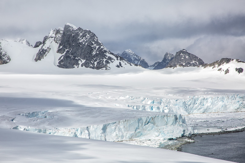 Glaciers, Laurie Island, South Orkney Islands