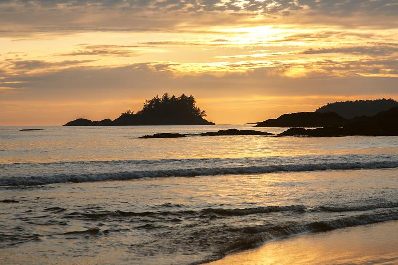 Sunset,Vancouver Island, British Columbia