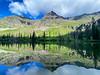 Snyder Lake Reflection, Glacier National Park