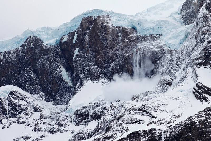 Avalanche, Patagonia
