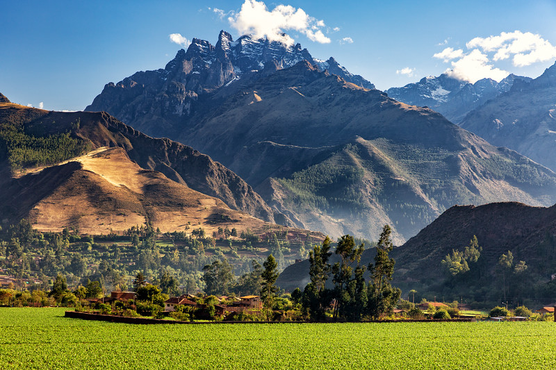 Sacred Valley Vista, Peru
