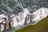 Flying Over Falls, Iceland