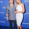 SANTA MONICA, CA - MAY 08:  Jonathan Lipnicki & Charlotte Smith arrive at the 3rd Annual Nautica Oceana Beach House Party at the Marion Davies Guest House on May 8, 2015 in Santa Monica, California.