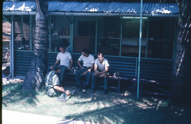 Naval Civil Engineering Offices, Danang Vietnam 1965<br /> I don't know, What do you want to do today?