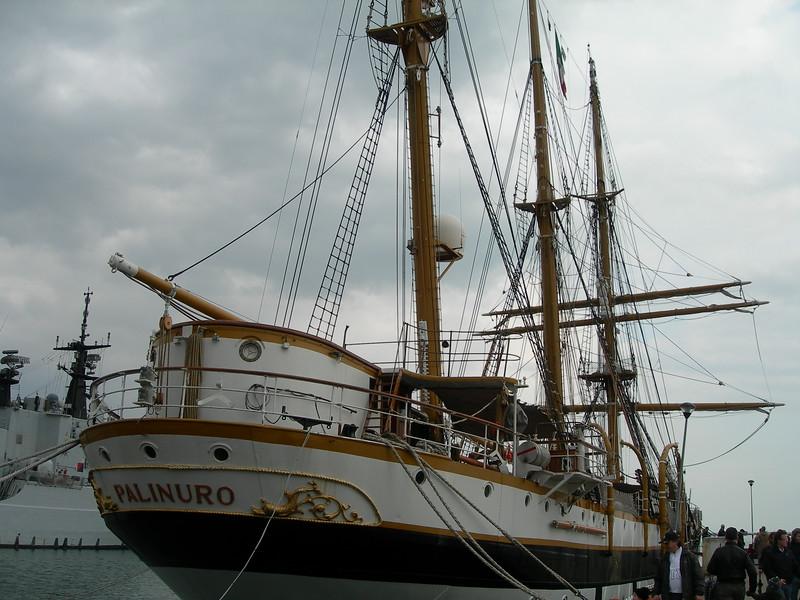 Barquentine Palinuro<br /> <br /> Nave scuola Palinuro