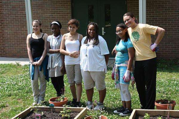 Neal Middle School Garden