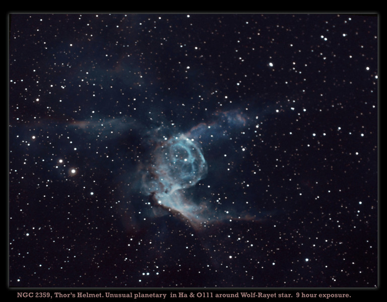Imaged during bright moonlight, hence very slow! Meade 127.