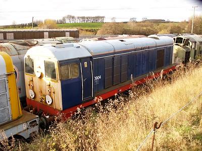 Class 20_20904 seen at Barrow Hill    22/11/08