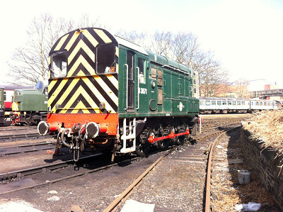 Class 08_D3871 (08704) seen at East Lancs Railway    13/04/13