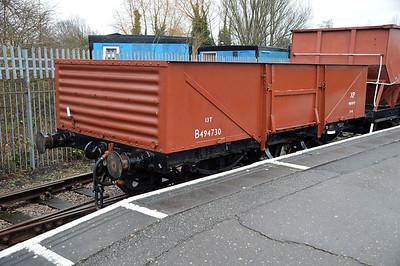 4730 Renumbered B494730 at Nene Station  13/02/16.