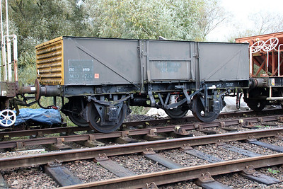 4726 13t Steel Open Ex MOD at Wansford  21/10/13.