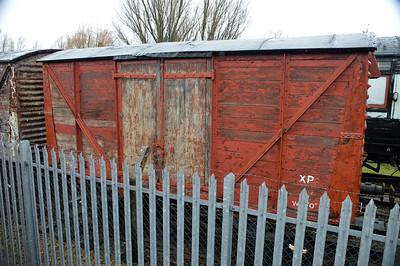B777633 12t Vent Van at Railworld   13/02/16.