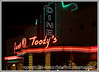 A Gunther Toody's diner at night.