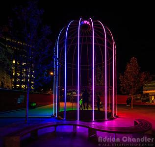 Neon Birdcage