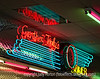 Neon : Images of neon signs or other structures decorated with neon.