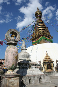 swayambhunath stupa.  kathmandu