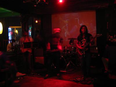 local band.  kathmandu