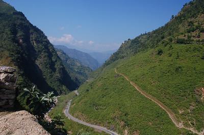 The Siddhartha Highway from Lumbini to Pokhara. YES!