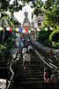 stairs up to swayambhunath stupa.  kathmandu