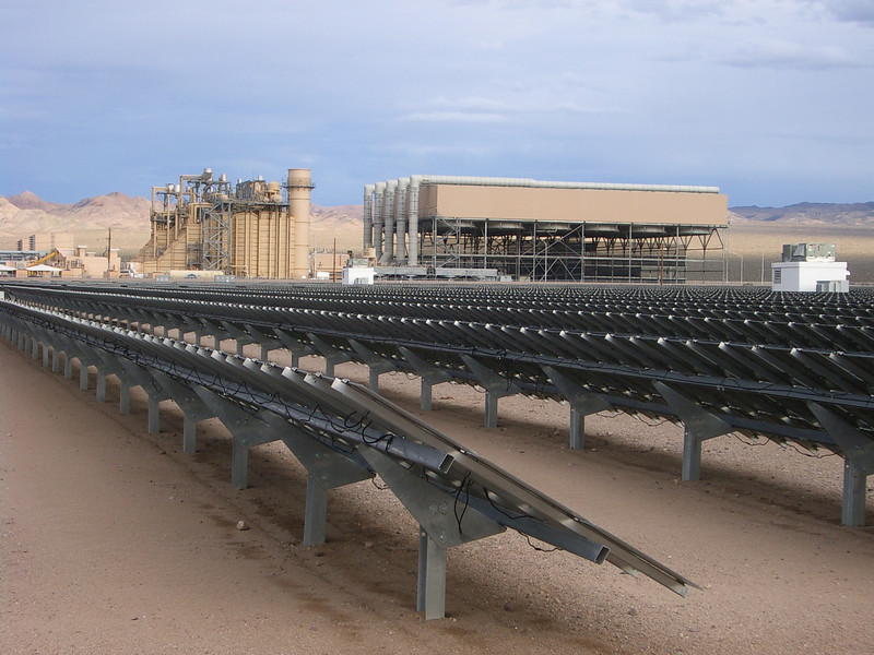 Good idea to surround a gas plant with solar. All the infrastructure is already in place, and adding 10 MW of PV to a 1,000 MW gas plant is hardly going to tax the system.<br /> <br /> Sempra wants to develop more than 500 megawatts of solar photovoltaic power in the coming years.